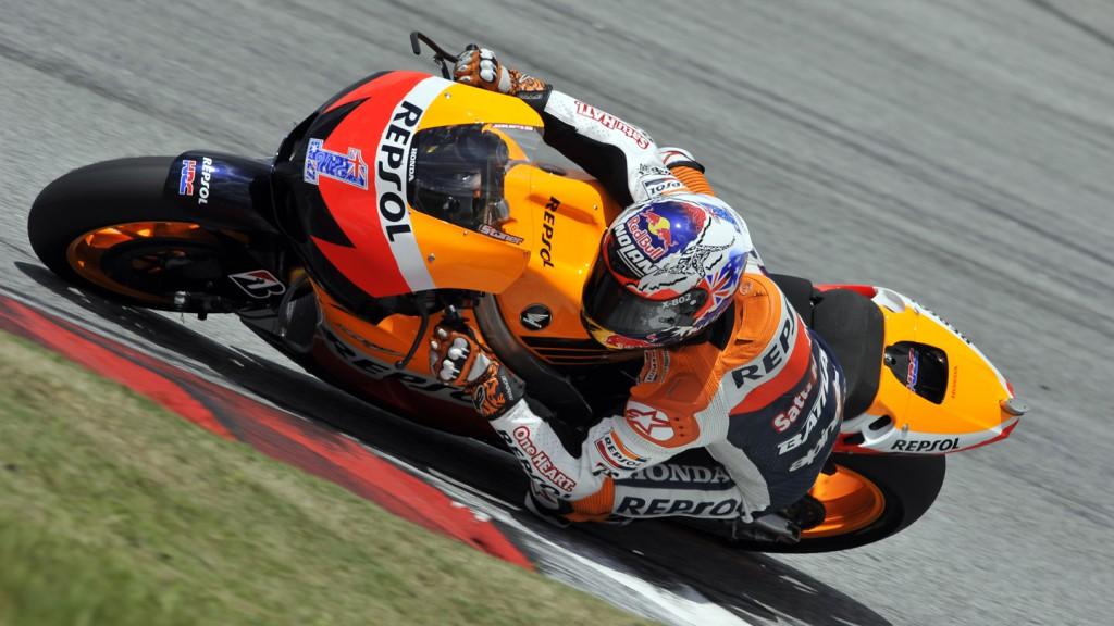 Casey Stoner, Repsol Honda Team, Sepang Test 2