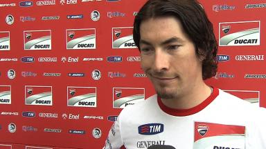 2012 - MotoGP - Sepang Test - Day 2 - Interview - Nicky Hayden