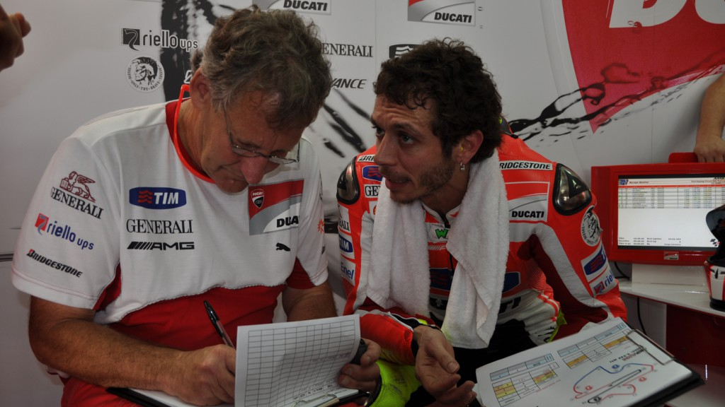 Valentino Rossi, Ducati Team - Sepang Test 2