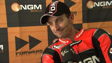 2012 - MotoGP - Sepang Test - Day 3 - Interview - Colin Edwards