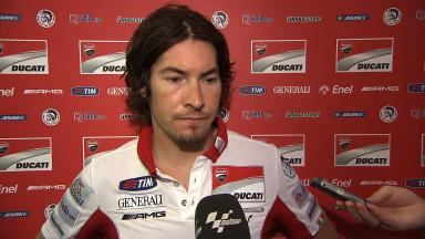 2012 - MotoGP - Sepang Test - Day 3 - Interview - Nicky Hayden