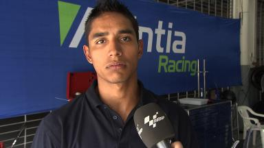 2012 - MotoGP - Sepang Test - Day 3 - Interview - Yonny Hernandez