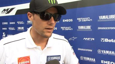2012 - MotoGP - Sepang Test - Day 3 - Interview - Ben Spies