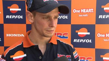 2012 - MotoGP - Sepang Test - Day 3 - Interview - Casey Stoner
