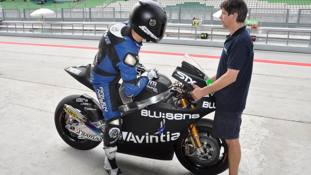 Ivan Silva, Avintia Racing MotoGP - Sepang Test 2