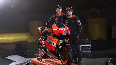2012 Repsol Team Launch in Madrid