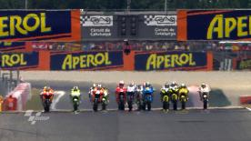 The World Championship leader extended his advantage at the top of the standings further with his fifth win of the campaign at the Gran Premi Aperol de Catalunya. Dani Pedrosa and Casey Stoner finished second and third for the second race in succession.