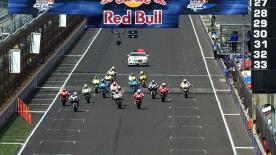 The Repsol Honda rider took a third win of the season for the first time in his premier class career at the Red Bull Indianapolis Grand Prix on Sunday, with home rider and pole man Ben Spies achieving his best MotoGP result to date in second. Championship leader Jorge Lorenzo completed the podium.