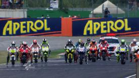 The Repsol Honda rider took his first consecutive premier class victories with success in the Gran Premio Aperol di San Marino e della Riviera di Rimini on Sunday. Jorge Lorenzo and Valentino Rossi completed the podium.