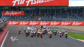 The Frenchman of the Forward Racing team was victorious in another magnificent Moto2 race as he took 25 points at the AirAsia British Grand Prix. Tom Lüthi and Julián Simón completed the podium, with home rider Scott Redding fourth.