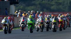 An action-packed final race of the season ended with the Cardion ab Motoracing rider taking his first-ever GP win in Valencia, as Andrea Iannone and Julián Simón completed the podium with the latter sealing runner-up spot in the Championship.