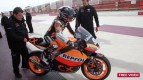 Marc Márquez back on track at Albacete