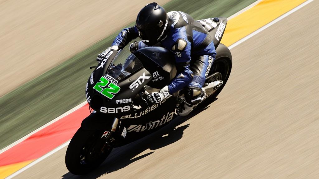 Ivan Silva, Avintia Racing MotoGP, Aragon Test