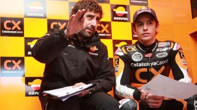 Marc Marquez, Team CatalunyaCaixa Repsol - Albacete Test