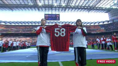 Simoncelli tribute at San Siro