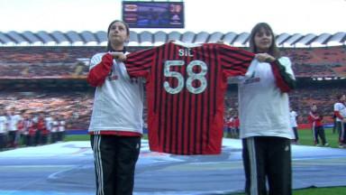 Simoncelli Tribute, AC Milan
