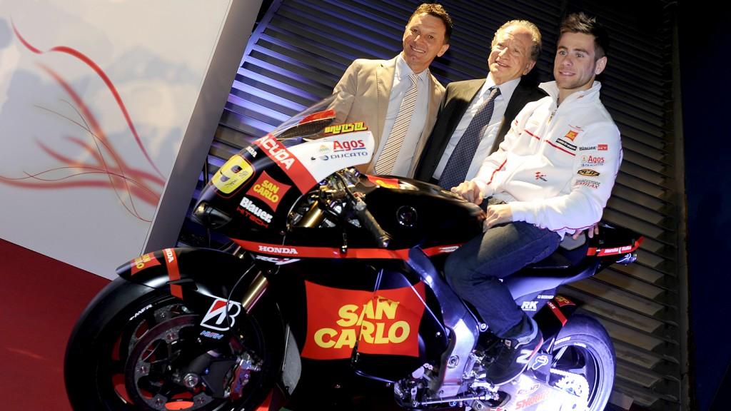 Fausto Gresini, Alberto Vitaloni, Alvaro Bautista, San Carlo Honda Gresini