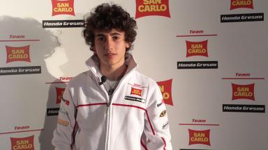 2012 - Moto3 -  San Carlo Honda Gresini Presentation - Interview - Niccolo Antonelli