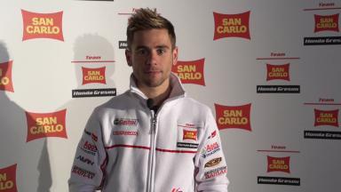 2012 - MotoGP -  San Carlo Honda Gresini Presentation - Interview - Alvaro Bautista