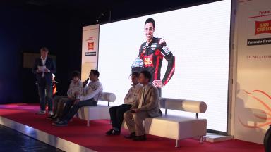 2012 - MotoGP -  San Carlo Honda Gresini Presentation