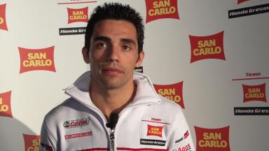 2012 - MotoGP -  San Carlo Honda Gresini Presentation - Interview - Michele Pirro