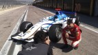 Lorenzo tries his skill with GP2 series race car in Valencia