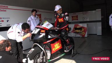 Pirro completes FTR-Honda CRT shakedown at Imola
