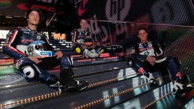 Pons, Espargaro, Rabat, Team Pons 40 HP Tuenti Presentation
