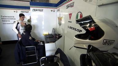 2012 - Jerez Test 2 - Moto3 - Day 1 Highlights
