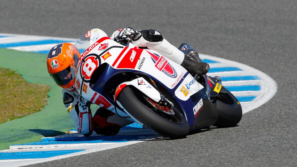 Gino Rea, Federal Oil Gresini Moto2, Jerez Test