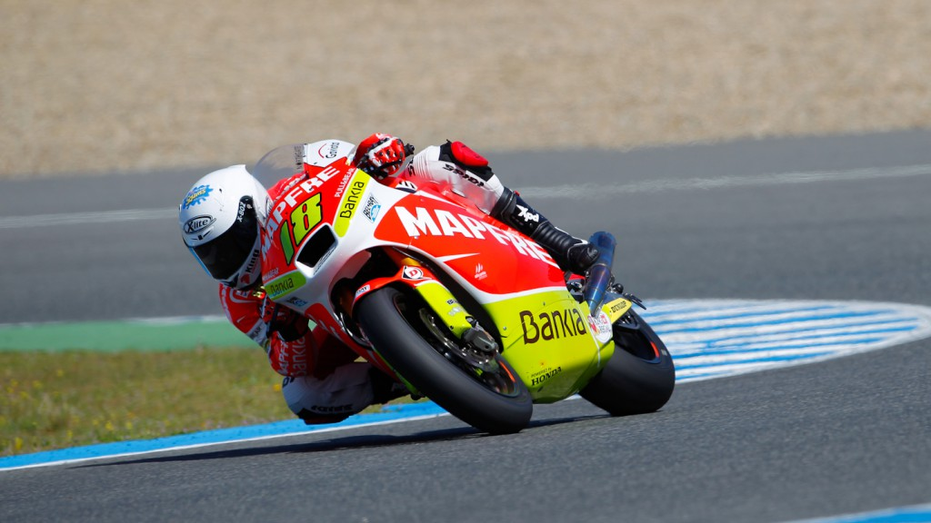 Nico Terol, Mapfre Aspar Team, Jerez Test