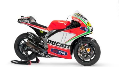Rossi's Ducati Desmosedici GP12