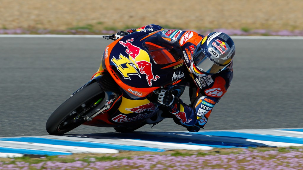 Sandro Cortese, Red Bull KTM Ajo, Jerez Test