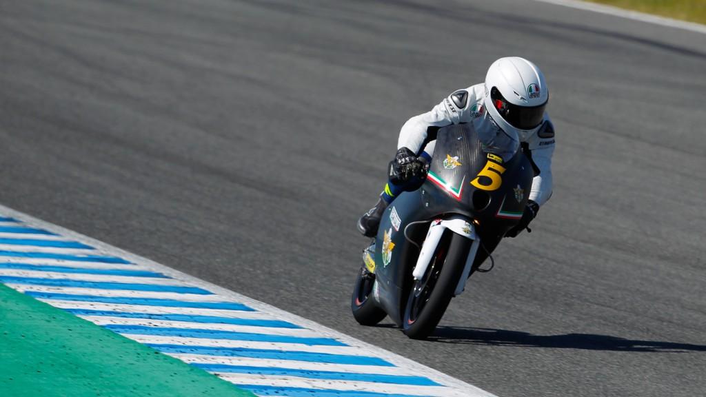 Romano Fenati, Team Italia FMI,Jerez Test