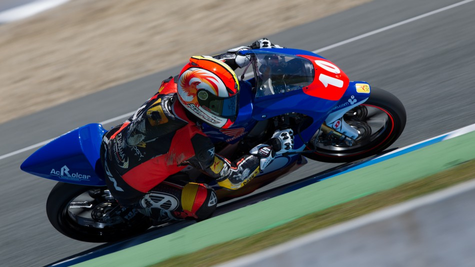Alexis Masbou, Elba-Caretta Technology, Jerez Test