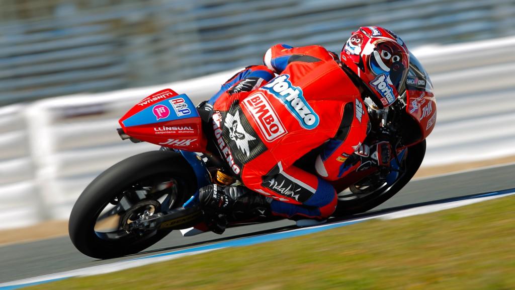 Ivan Moreno, Andalucia JHK Laglisse, Jerez Test