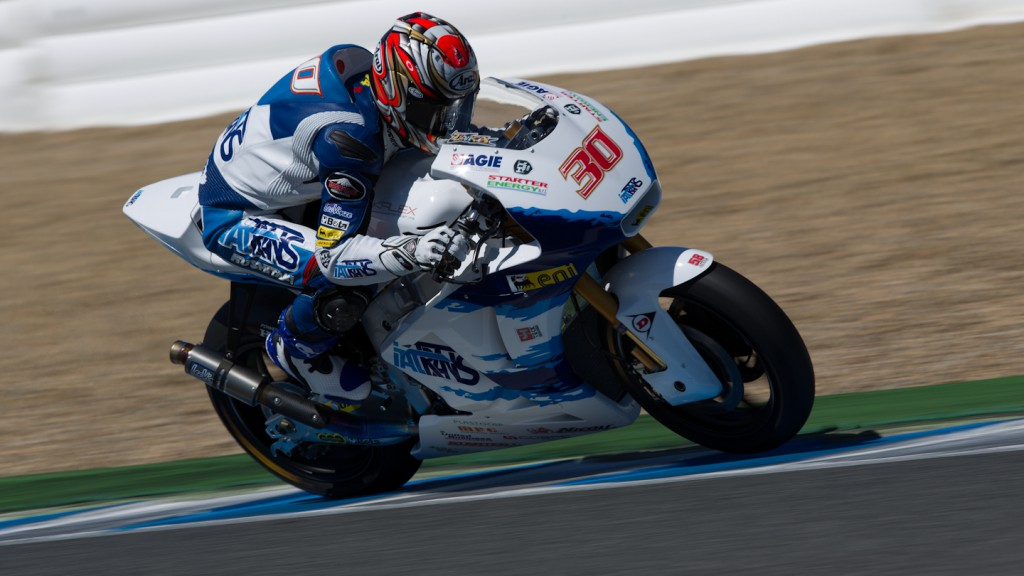 Takaaki Nakagami, Italtrans Racing Team, Jerez Test