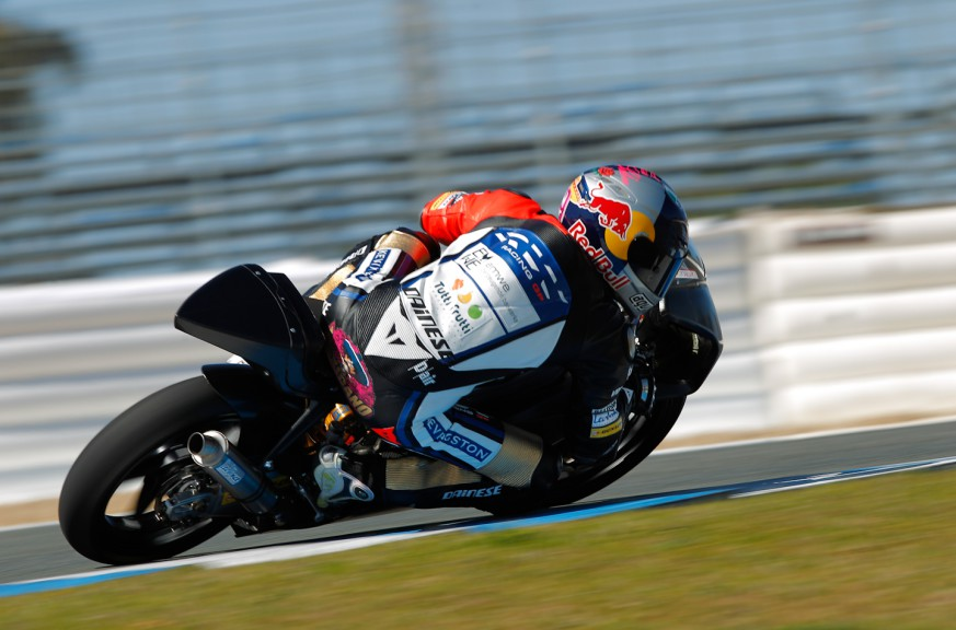 Luis Salom, RW Racing GP, Jerez Test