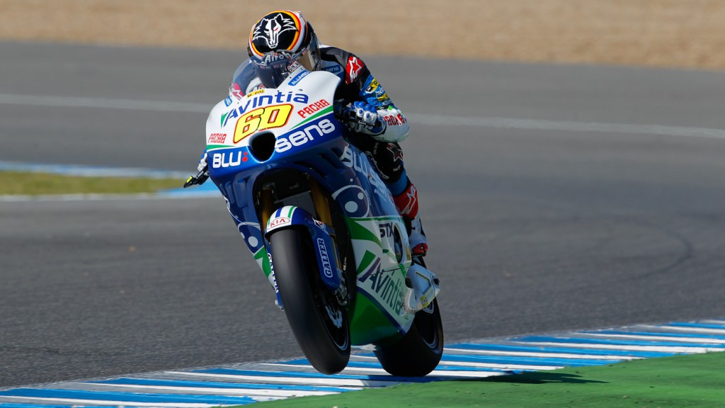 Julian Simon, Avintia Racing Moto2, Jerez Test