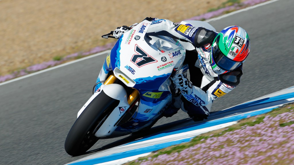 Claudio Corti, Italtrans Racing Team, Jerez Test