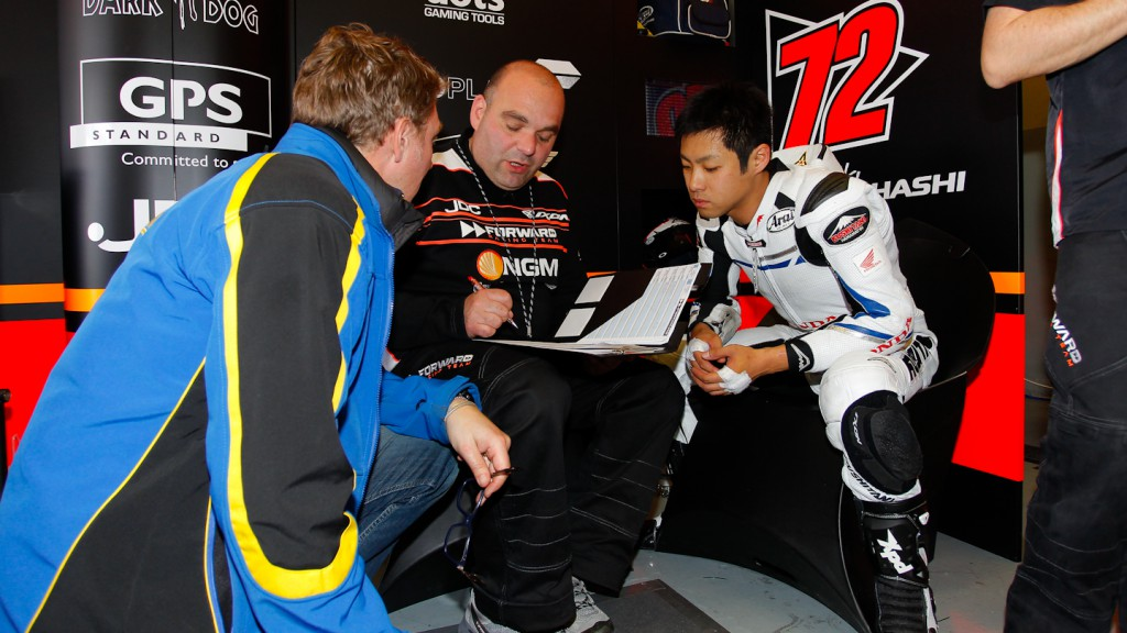 Yuki Takahashi, NGM Mobile Forward Racing, Jerez Test