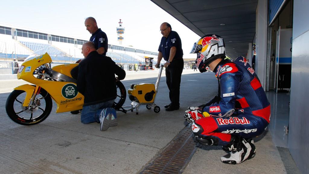 Jonas Folger, IodaRacing Project, Jerez Test