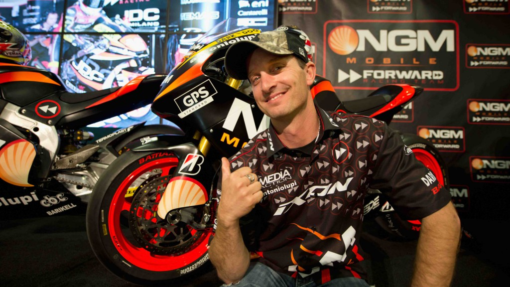 Colin Edwards, NGM Mobile Forward Racing Presentation, Jerez de la Frontera