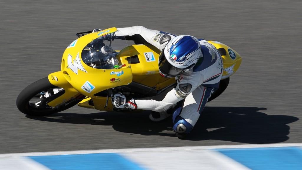 Luigi Morciano, Ioda Team Italia, Jerez Test
