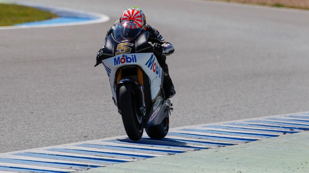 Johann Zarco, JIR Moto2, Jerez Test