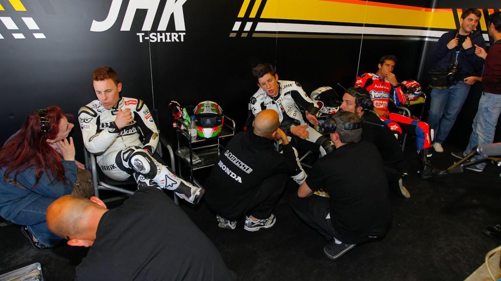 Efren Vazquez, Adrian Martin, JHK Laglisse, Jerez Test