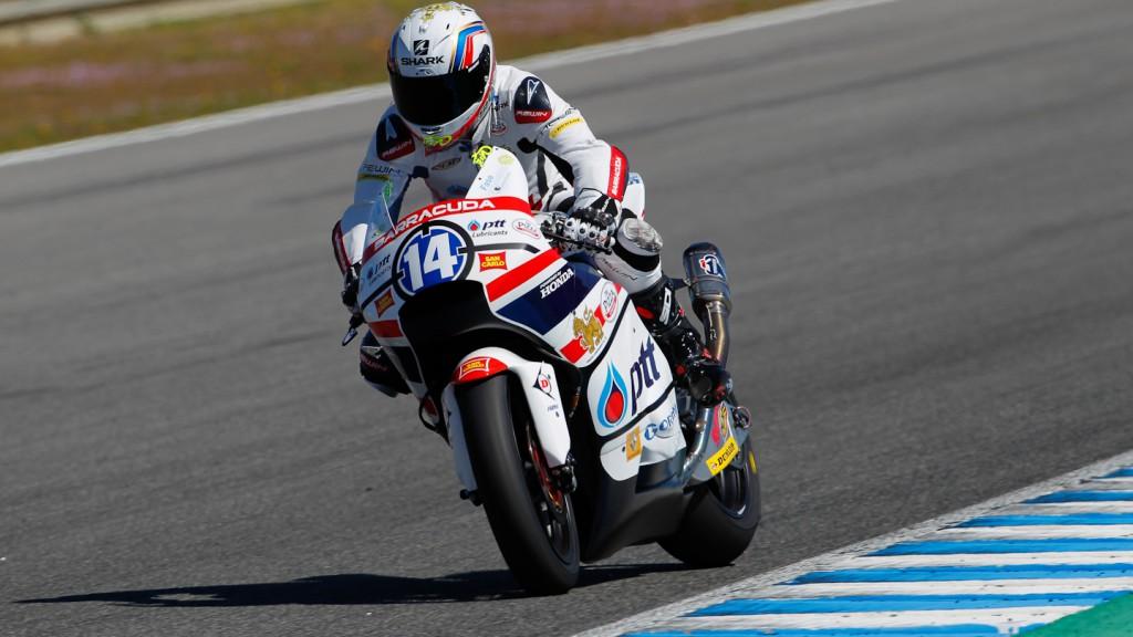 Ratthapark Wilairot, Thai Honda Gresini, Jerez Test
