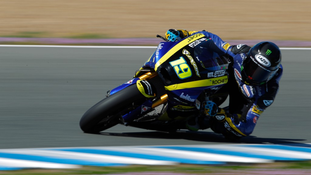 Xavier Simeon, Tech 3 Racing, Jerez Test