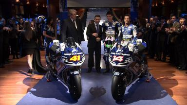 Power Electronics Aspar Team MotoGP presentation