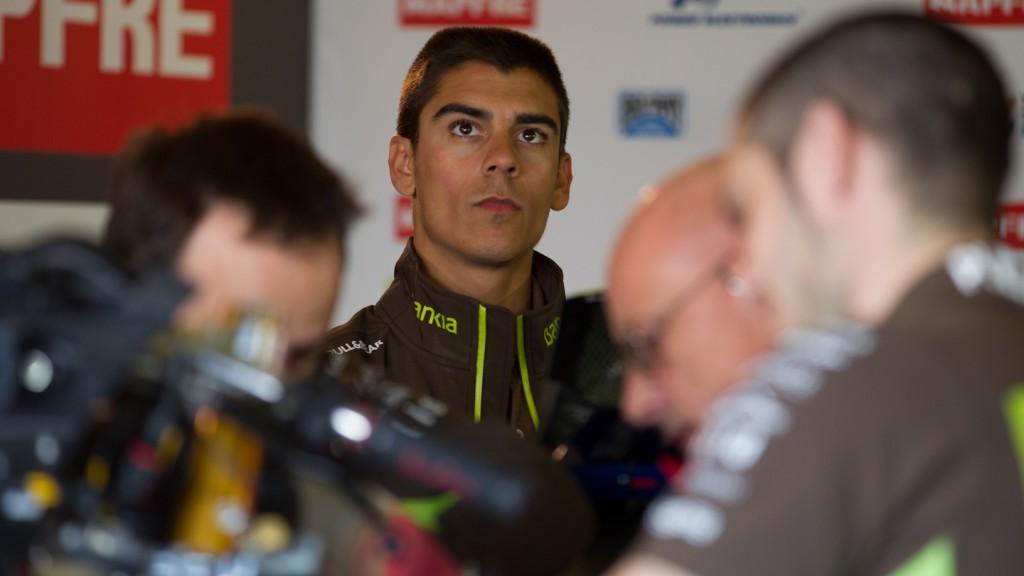 Alberto Moncayo, Bankia Aspar Team, Jerez Test